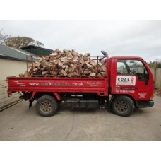 Jumbo load of Hardwood Logs